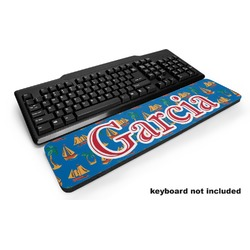 Boats & Palm Trees Keyboard Wrist Rest (Personalized)