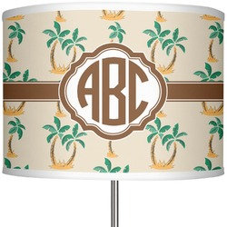 """Palm Trees 13"""" Drum Lamp Shade (Personalized)"""