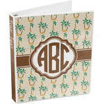 Palm Trees 3-Ring Binder (Personalized)