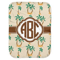 Palm Trees Baby Swaddling Blanket (Personalized)