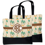 Palm Trees Beach Tote Bag (Personalized)