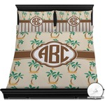 Palm Trees Duvet Cover Set (Personalized)
