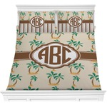 Palm Trees Comforter Set (Personalized)
