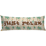 Palm Trees Body Pillow Case (Personalized)