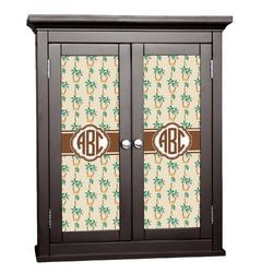 Palm Trees Cabinet Decal - Custom Size (Personalized)