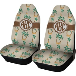 Palm Trees Car Seat Covers (Set of Two) (Personalized)