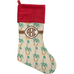 Palm Trees Christmas Stocking (Personalized)