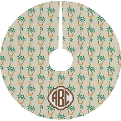 Palm Trees Tree Skirt (Personalized)