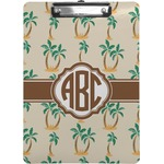 Palm Trees Clipboard (Personalized)