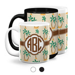 Palm Trees Coffee Mugs (Personalized)