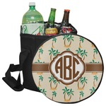 Palm Trees Collapsible Cooler & Seat (Personalized)
