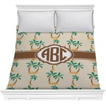Palm Trees Comforter (Personalized)