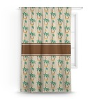 Palm Trees Curtain (Personalized)