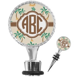 Palm Trees Wine Bottle Stopper (Personalized)