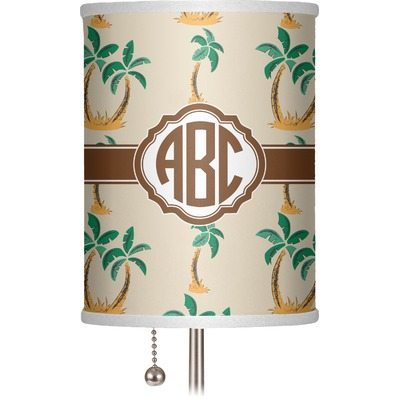 Palm Trees 7 Quot Drum Lamp Shade Personalized Youcustomizeit