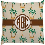 Palm Trees Decorative Pillow Case (Personalized)