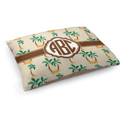 Palm Trees Dog Pillow Bed (Personalized)