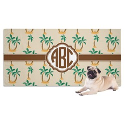Palm Trees Pet Towel (Personalized)