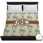 Palm Trees Duvet Cover (Personalized)