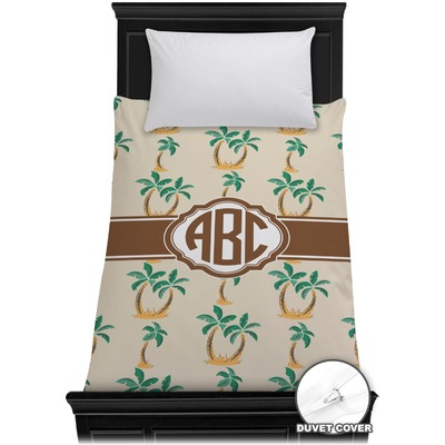 Palm Trees Duvet Cover - Toddler (Personalized)