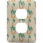 Palm Trees Electric Outlet Plate (Personalized)