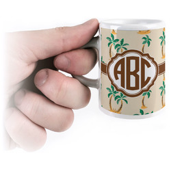 Palm Trees Espresso Cups (Personalized)
