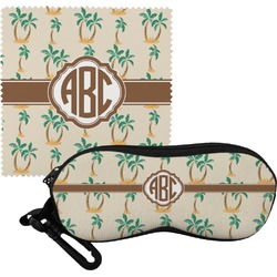 Palm Trees Eyeglass Case & Cloth (Personalized)