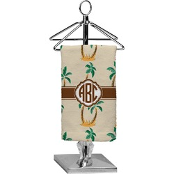 Palm Trees Finger Tip Towel - Full Print (Personalized)