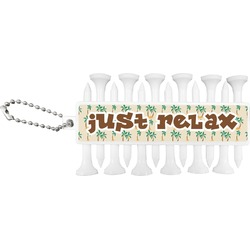 Palm Trees Golf Tees & Ball Markers Set (Personalized)