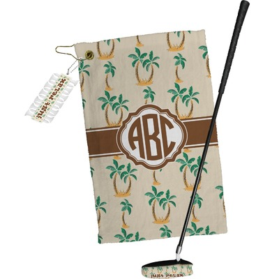 Palm Trees Golf Towel Gift Set (Personalized)