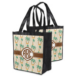 Palm Trees Grocery Bag (Personalized)