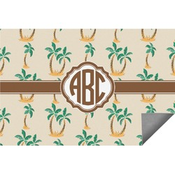 Palm Trees Indoor / Outdoor Rug (Personalized)