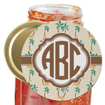 Palm Trees Jar Opener (Personalized)
