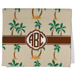 Palm Trees Kitchen Towel - Full Print (Personalized)