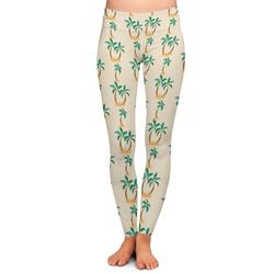 Palm Trees Ladies Leggings (Personalized)