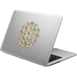 Palm Trees Laptop Decal (Personalized)