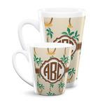 Palm Trees Latte Mug (Personalized)