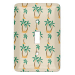 Palm Trees Light Switch Covers - Multiple Toggle Options Available (Personalized)