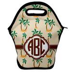 Palm Trees Lunch Bag w/ Monogram