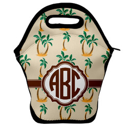Palm Trees Lunch Bag (Personalized)