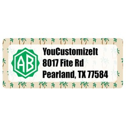 Palm Trees Return Address Labels (Personalized)