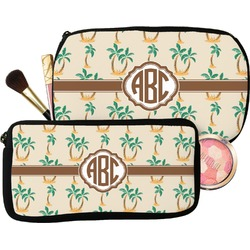 Palm Trees Makeup / Cosmetic Bag (Personalized)