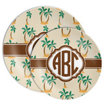 Palm Trees Melamine Plate (Personalized)