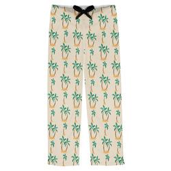 Palm Trees Mens Pajama Pants (Personalized)