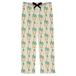 Palm Trees Mens Pajama Pants (Personalized)