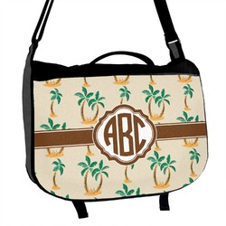 Palm Trees Messenger Bag (Personalized)
