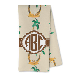 Palm Trees Microfiber Kitchen Towel (Personalized)