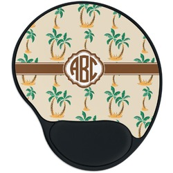 Palm Trees Mouse Pad with Wrist Support