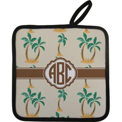 Palm Trees Pot Holder (Personalized)