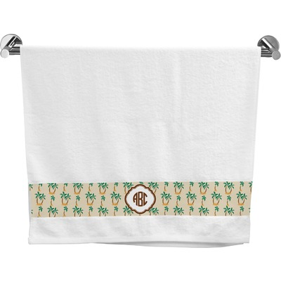 Palm Trees Bath Towel (Personalized)